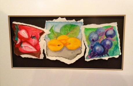 """Sweet Fruits"" Watercolour (12x24"")"
