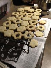 IMG_1974 Spitzbuben, Christmas Cookies 2014