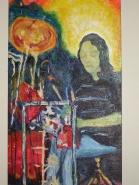 """Drummer Boy Acrylic (12x24"""")"""